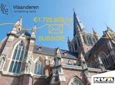 1,7 miljoen euro voor de restauratie van de basiliek Onze-Lieve-Vrouw in Dadize